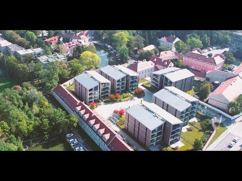 Video Pronájem bytu 2+kk s terasou, garáží a sklepem v rezidenčním projektu Šárecký Dvůr, 67m2, Praha 6
