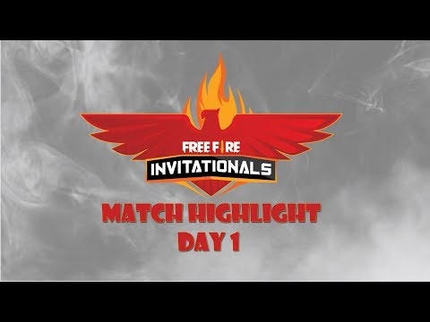 MATCH HIGHLIGHT DAY 1 FREE FIRE INVITATIONALS