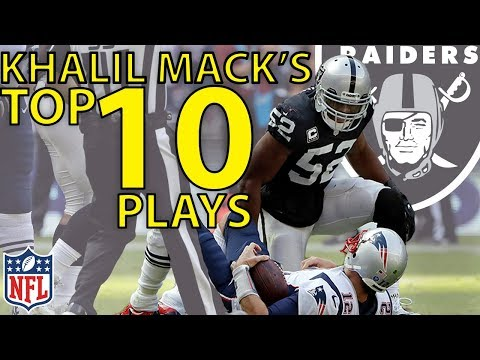 Video: Khalil Mack's Top 10 Highlights from the 2017 Season | NFL