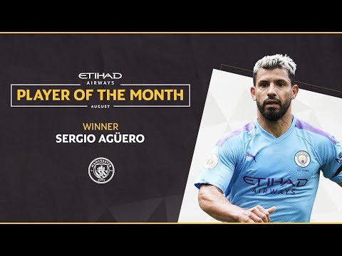 Video: Etihad Player of the Month | Sergio Agüero | August