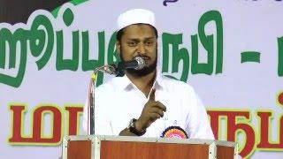 Hubbun Nabi(sal) Conference @Mohamed Ismail President of Popular Front Tamilnadu