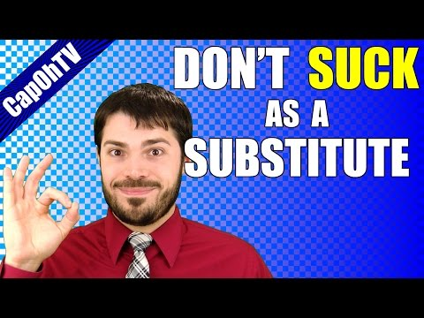 Tips for Substitute Teachers || My Favorite Advice