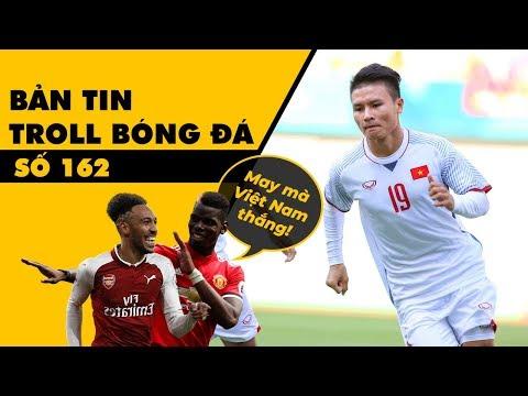 Bản tin Troll Bóng Đá số 162: Olympic Việt Nam làm lu mờ trận trận thua của M U và Arsenal (видео)