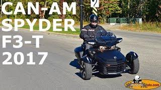 9. Can-Am Spyder F3-T 2017 - Bilan d'essai