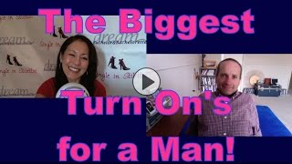 Dating advice for women: The Biggest Turn On's for a Man.Find out what turns a man on from a dating coach for men & women.Dating advice for women over 40. Dating advice for women over 50.Suzanne Oshima, Matchmaker & Dating Coach at Dream Bachelor & Bachelorette & the Founder of Single in Stilettos (http://www.singleinstilettos.com) interviews Duana Welch, Dating Coach.Get dating tips for women over 40 & dating advice for women from a top dating coach for women over 40 & 50.3 Secrets Guaranteed to Attract Any Man!Get the Free Report Now!http://www.singleinstilettos.com/m-3-secrets-attract-man-ytDating Coach for women in their 40's &  50'sSponsored by CupidsPulse http://www.cupidspulse.comSuzanne Oshima is a Matchmaker & Dating Coach at Dream Bachelor & Bachelorette: http://www.dreambachelor.com