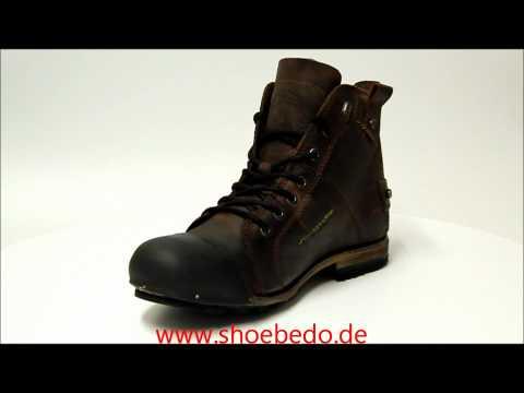 Yellow Cab Boots Herren Industrial Y15012 Dark Brown