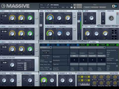 Massive Demo all presets preview