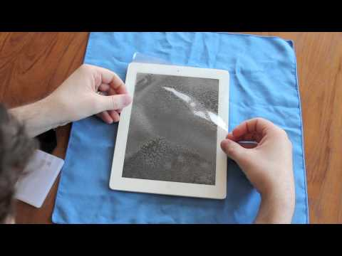 ipad hd - In this video I have a first look at ZAGG's InvisibleShield HD for the new iPad. It offers a new feel, that's supposed to feel more like glass than the origi...