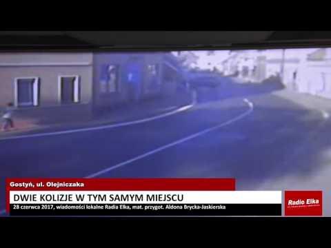 Wideo1: Wypadki na Olejniczaka w Gostyniu