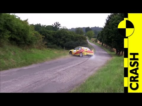BIG CRASH / Petr Hozák - Josef Radina Mitsubishi Lancer EVO IX Rally Agropa 2014