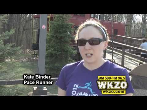 Kate Binder and Brett Beier explain what it takes to be an effective pacer in a marathon. Both will be pacing in the Kalamazoo Marathon on May 5th 