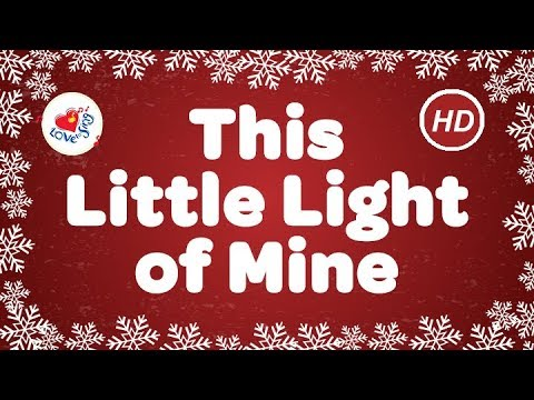 This Little Light of Mine I'm Gonna Let it Shine    Gospel   Children Love to Sing