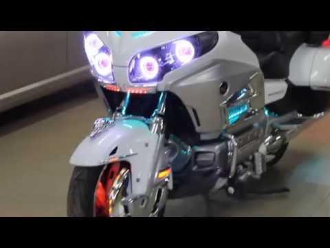 Тюнинг оптики мотоцикла Honda