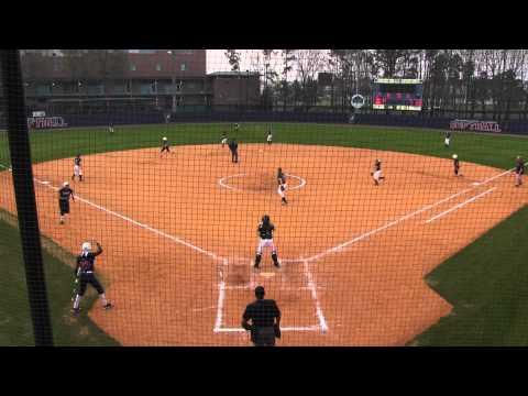 Postgame - Softball vs. Georgia College