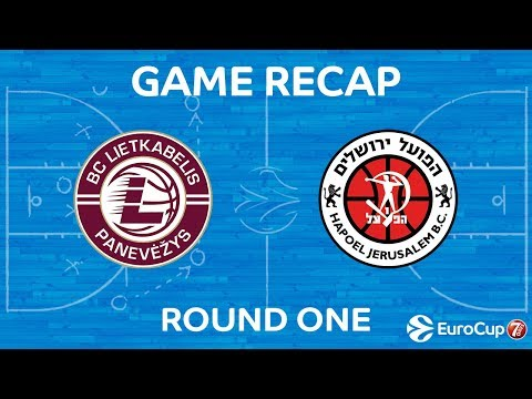 7Days EuroCup Highlights Regular Season, Round 1: Lietkabelis 86-72 Jerusalem
