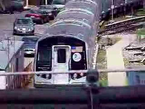 MustangFan424 - This is a video I took of a R160A moving around East New York Yard.