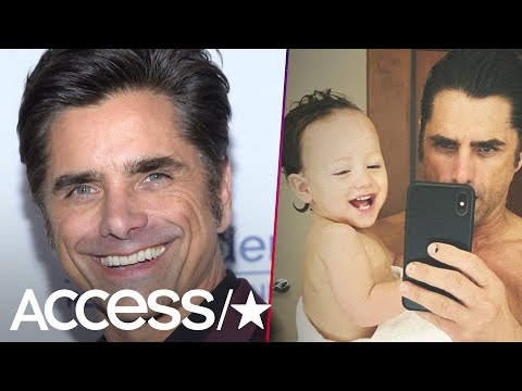John Stamos' Father-Son Bath Time Selfie With Baby Billy Will Melt Your Heart