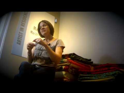 Still image from Marie Watt: Blanket Story