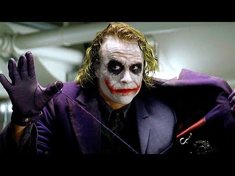 Joker's Pencil Trick Scene - The Dark Knight (2008) Movie CLIP HD