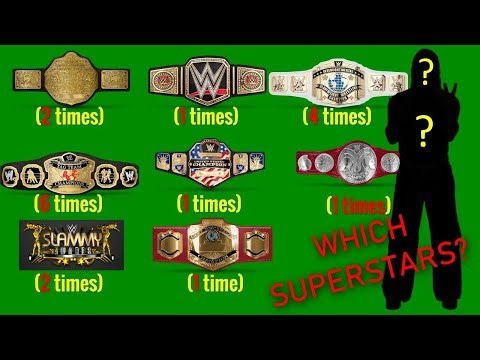 99% Fail To Guess All These Wwe Superstars With Championships & Accomplishments 2019?