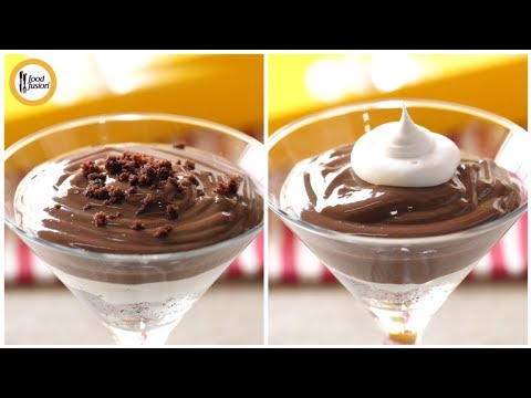 Brownie Trifle with Chocolate Custard  Recipe by Food Fusion (Eid Special Recipe)