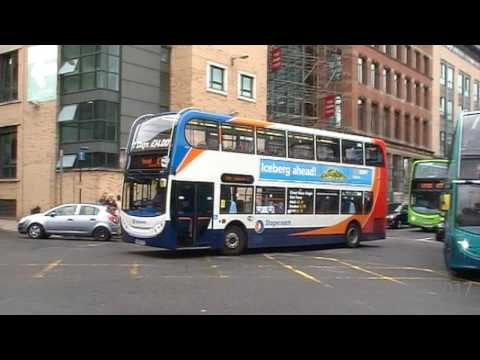 Stagecoach Buses At Queens Square Bus Station Liverpool On The 04/07/2017