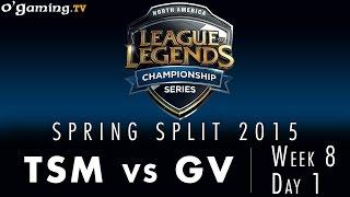 LCS NA Spring 2015 - W8D1 - TSM vs GV