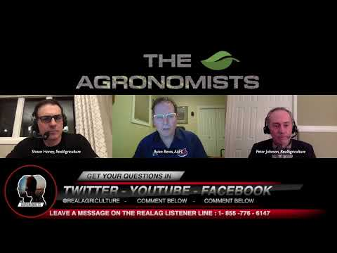 "The Agronomists with Dr. Brian Beres and Peter ""Wheat Pete"" Johnson on seeding / planting early"