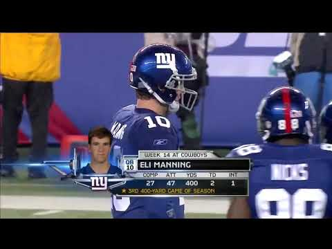 2011 Week 17 - Cowboys @ Giants