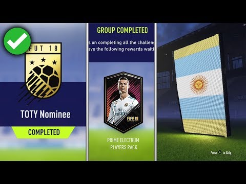 TOTY NOMINEE SBC *CHEAP* - (PRIME ELECTRUM PLAYERS PACK - TOTY NOMINEE SBC)