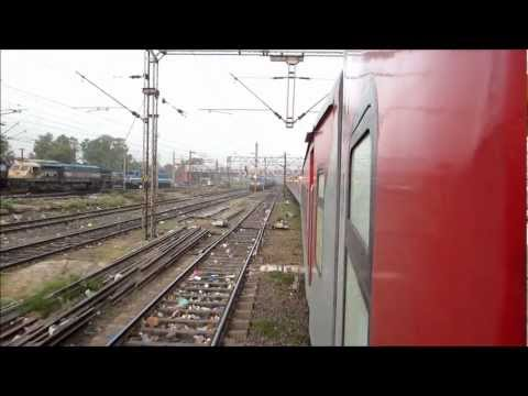 Howrah Rajdhani - A full journey compilation from the 12302 Howrah Rajdhani Express; a.k.a ER King. The journey was undertaken in June 2012, in the huge summer rush. The journ...