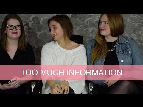 TMI (Too Much Information) Tag! | GirlsceneNL