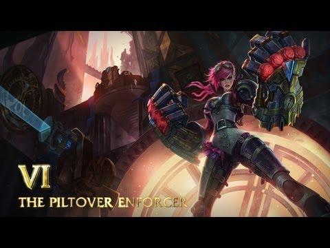 Champion-Spotlight: Vi, Piltovers Vollstreckerin