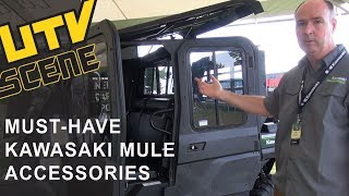 2. Key Accessories for the 2015 Kawasaki Mule Pro-FXT