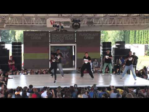 Fusionart - SDK EUROPE 2013 WORLD TEAM BATTLE.