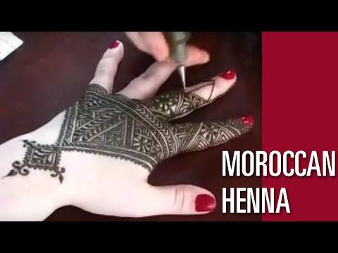 Fessi Moroccan Style Henna - Nic Tharpa Cartier - Part II (видео)