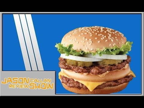 I review Burger King's Big King Sandwich