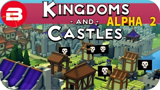 Kingdoms and Castles Gameplay: THE PLAGUE!!!  #7 - Lets Play Kingdoms & Castle Alpha City Building