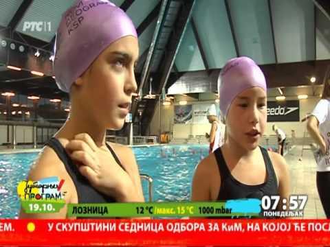 Javni čas sinhronog plivanja. Prilog na RTS