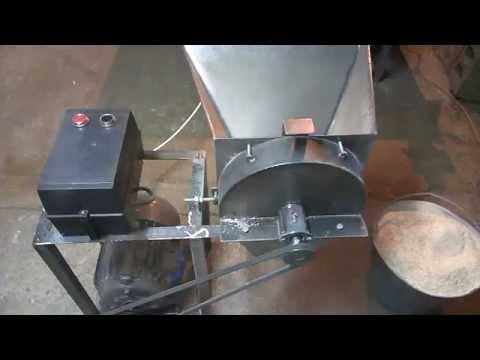 Как сделать самодельный зернодробилку