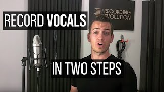 Video Recording Great Vocals In Two Steps - TheRecordingRevolution.com MP3, 3GP, MP4, WEBM, AVI, FLV Mei 2019