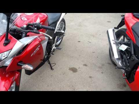 [До отсечки] Обзор мотоциклов Honda CBR250R и Kawasaki Ninja 250R