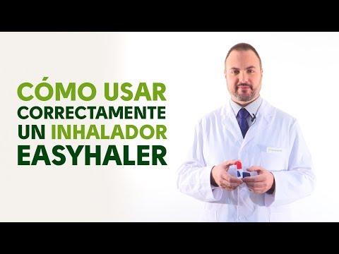 Cómo utilizar correctamente un inhalador Easyhaler