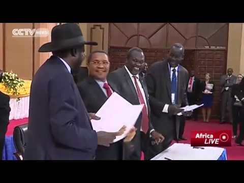 South sudan - Regional leaders have welcomed the peace agreement signed by South Sudanese warring factions.The leaders described the deal as a new dawn for the country whi...