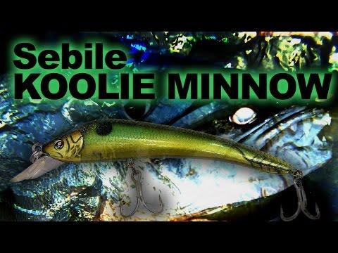 Sebile Koolie Minnow Medium Lip 118 videó