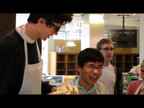 Cooking 101: Students Learn To Make Sushi