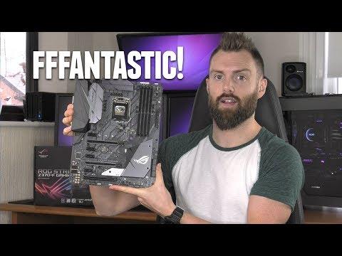ASUS ROG STRIX Z370-F Gaming Review