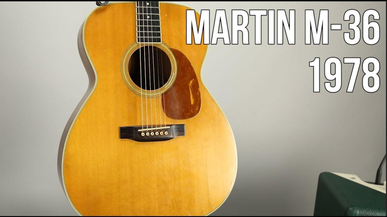 Martin M-36 – Acoustic Guitar 1978 (Demo)