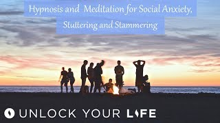 This hypnosis session for social anxiety, stuttering and stammering addresses both the psychological and neurological root causes of stuttering and stammering.  This session focuses on many different levels at the root of these issues including:calming breathingslowing down and retaining control of thoughts in social situationsrepairing any breakage or issue in the central nervous systemgetting more comfortable with your true selftaking back control of social situations and conversationsgradually exposing yourself to more challenging situations over timePanic Attacks and Anxiety Relief Meditations and Affirmations Playlist: https://www.youtube.com/playlist?list=PLqktjn8c06SyEm6pPeorxrrrpF-yrrOq9Get $5 off a minimum $25 purchase on all mp3s (excluding the Think Yourself Slim Program) by using code UYL5 at www.unlockyourlifetoday.comSubscribe to Think Yourself Slim's Youtube Channel:http://bit.ly/1NbGwlXConnect on Facebook and gain access to exclusive offers and the occasional mp3 gift: http://www.facebook.com/unlockyourlifetodayUnlock Your Life Mp3s on iTunes: https://itunes.apple.com/artist/unlock-your-life/id1034660915Think Yourself Slim MP3s on iTunes:https://itunes.apple.com/artist/think-yourself-slim/id1009734404-----------------------------------------------------You must be of adult age in your state, or country or gain caregiver or parental approval to listen. These recordings are intended for relaxation, self-improvement and entertainment purposes only.   Hypnosis is not a replacement for any counseling or psychotherapy.  These recordings do not diagnose, cure or prevent any mental or physical health condition or illness or prevent any illness or condition of the body or mind, they cannot tell you what will happen to you in the future.  If you think or know you have a health issue, talk to your doctor before listening to any part of this recording.  Never delay, change or stop any treatment, medication or regime without consulting with your doctor or health care professional first.  Never change your lifestyle, including but not limited to diet, exercise, sleep or anything else without consulting with your doctor first and following his or her advice. If you ever feel unwell at any time while listening to these recordings, you must seek immediate medical attention.  You should continue taking regular medical check-ups.If you know you have any kind of mental health issues, you should NOT buy or listen to any of our hypnosis recordings. If you wish the benefits of hypnotherapy, ask your counselor or therapist.By listening to this recording you confirm that you have checked any suspected or confirmed mental or physical health condition with a doctor and you accept full responsibility for all outcomes.  You understand that hypnosis is merely a process of suggestion and you can always accept or reject the suggestions you receive.  You are always in control.   All hypnosis is self-hypnosis.  Therefore we cannot guarantee, (a) that you will get any results at all or; (b), that any results you do get will be permanent.Please only ever listen to any of these recordings when you are in a quiet space, ideally at home or in a quiet room.  Never listen to any of these recordings while driving or operating machinery or when required to remain alert to your environment as you may become very relaxed and may even fall asleep.All recordings are best listened to on headphones.All scripts are unique and protected by copyright law by © Sarah Dresser 2015 / 2016 /2017 and may not be transcribed, re-used or re-recorded in part or whole whether for public or private practice use.  All recordings are also copyright protected and are not permitted for public broadcasting, or any form of paid or unpaid distribution other than for private, individual use.  These recordings may be removed or deleted at any time with no notice.