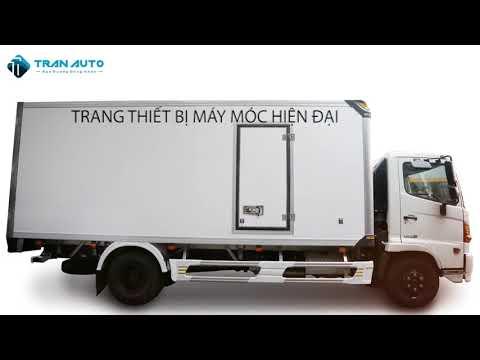 Cung cấp xe tải Hino thùng bảo ôn tại TRAN AUTO